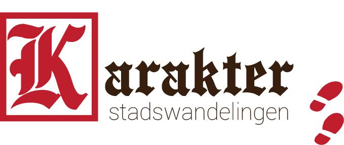 Het nieuwe logo van Karakter Stadswandelingen